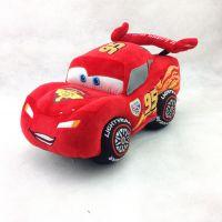 汽车总动员麦昆毛绒玩具小汽车公仔抱枕 男孩布娃娃儿童生日礼物