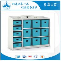 供应广州童年之家T-Y6012A幼儿园新款白色贵族玩具收纳柜
