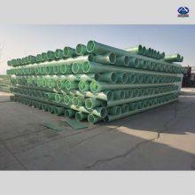 玻璃钢井管带法兰盘 FRP扬程管的优点 摩擦阻力小输送能力高井管 河北华强