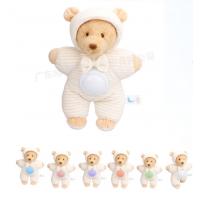 音乐安抚毛绒玩具安抚小熊音乐玩具宝宝礼品发声毛绒公仔熊