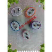 优势供应 彩色多功能USB充电器插头 苹果手机USB充电头转换器