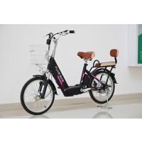 飞锂/FLIVE电动车 锂电池自行车单车 48V便携代步助力车 优格20寸