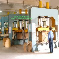 供应国森机械制造的高频弯曲木成套加工机械生产线