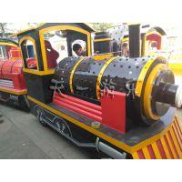无缝对接型无轨火车天一游乐设备新款低成本高品质的无轨小火车
