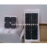 中德太阳能玩具灯具充电板18v20w,滴胶板小组件