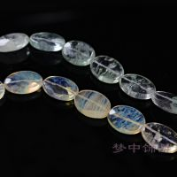 DIY服装饰品配件 透明花纹水晶 厂家直销 服装配饰水晶