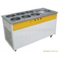 批发供应 广东菱锐单锅六桶炒冰机 冷冻食品加工设备