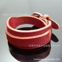 韩版男 女 情侣手链手镯 经典款层次缠绕式皮革真皮手链手镯