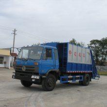 东风10立方压缩式垃圾车图片价格配置,楚胜牌CSC5128ZYSE型压缩式垃圾车