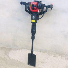 启航牌新型移苗起树机 汽油动力链条挖树机 带土球汽油挖树机