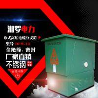 湘罗电力高压电缆分支箱电缆分接箱10KV 二分支