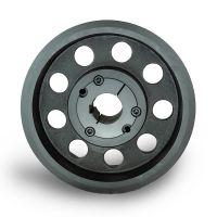 采购膨化机皮带轮spz160-06选无锡帛扬锥套皮带轮生产商