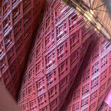 旺来防锈漆菱型网 塔吊踏板 建筑菱型网