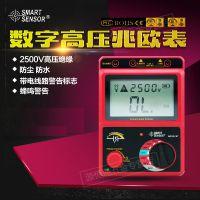 希玛AR907A+(2500V)数显高压兆欧表绝缘电阻测试仪AR907+(1000V