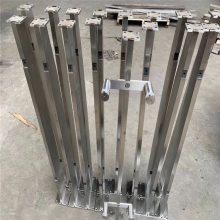 耀恒 房地产开发公司建筑装饰护栏 不锈钢栏杆立柱