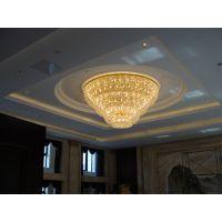 专业定制欧式现代豪华水晶吊灯高端大气吸顶灯精致美观豪华灯饰定制销售