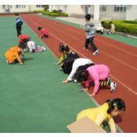 上海兴骏体育设施有限公司,供应幼儿园彩色塑胶操场地坪.价格优惠