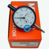 日本三丰百分表2046S指示表/指针式/高度计表/不锈钢齿轮 正品