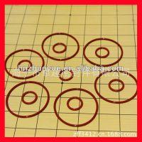 供应红色硅胶O型圈 食品级硅橡胶密封圆环垫圈 无毒环保