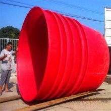 厂家供应衢州大白圆桶 食品级敞口圆桶 腌制蔬菜塑料桶