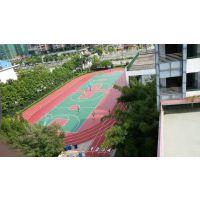 惠州塑胶跑道施工,学校塑胶跑道翻新施工,旧塑胶跑道改造工程