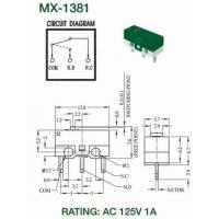 制造商 : 供应 勤铭 推动开关 MX-1381