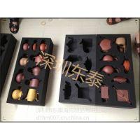 定制陶瓷茶壶内包装防震海绵内托厂家