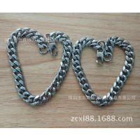 供应316l不锈钢手链  简约时尚不锈钢男士个性手链