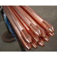 新疆光伏发电站用厂家直销供应接地材料铜包钢接地棒电解离子接地极