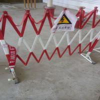 玻璃钢片式绝缘伸缩安全围栏作用 图片 石家庄金淼电力生产