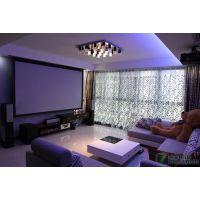 湖南长沙私人影院,家庭影院设计,家庭影视设备,一笔一画正投