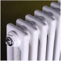 供应钢制柱形暖气片GZ303钢三柱散热器集中供暖