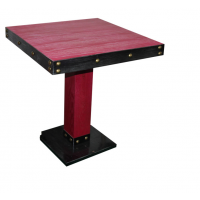 出口外贸美式铁艺实木餐桌椅组合复古餐厅咖啡厅酒吧实木桌子椅子