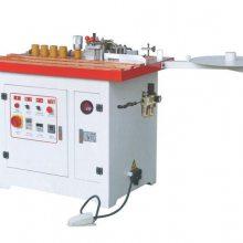 供应元成创直、曲线PVC或木条封边机(下置胶斗)
