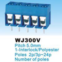 厂家直销 5.08 连接器、接线端子 KF,DG , /WJ 300V-5.0