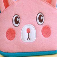 动漫卡通可爱棉布笑脸书包 可印logo幼儿包包 中可弘世箱包厂家订做