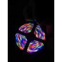 led2835RGB灯带灯条 2835七彩防水裸板灯带灯条多少钱一米