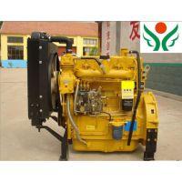 供应黑龙江齐齐哈尔吉林玉米粉碎机用4100带离合器柴油发动机发电机组