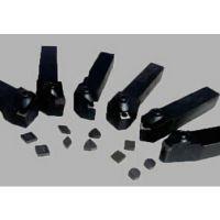 车削高锰钢刀片—华菱聚晶立方氮化硼CBN耐磨不崩刀