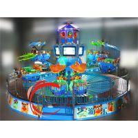 鹰击长空游乐设备-公园抢手大型旋转电玩游艺机