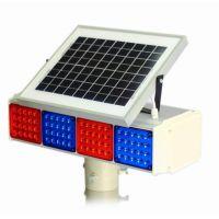 太阳能矩形警示标 太阳能频闪灯 鹏翔瑞LED交通爆闪灯 质保一年