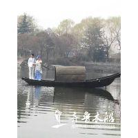 传统绍兴乌篷船价格 观光型乌篷船