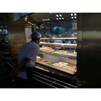 佳伯火锅店菜品展示柜,川西坝子自选柜,自助餐冷藏柜