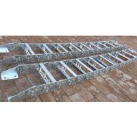 宏康供应隔离板式穿线钢铝拖链