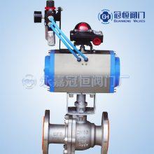 气动球阀Q641F-25C DN65 铸钢气动球阀Q641F_气动球阀_气动阀-气动阀门