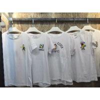 广东东莞工厂直销批发时尚女装外贸T恤批发 夏季清仓女装短袖