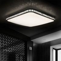现货批发LED吸顶灯长方形现代简约客厅卧室餐厅灯饰调光遥控灯具
