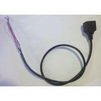监控摄像机网络尾线 摄像机尾线网络安防线