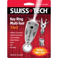 全新正品Swiss Tech瑞士科技七合一7合1迷你钥匙扣多功能工具小刀