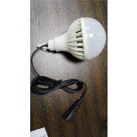 12W低压led球泡灯 12V-85V品字插地摊球泡灯应急灯 太阳能电瓶灯 中山厂家直销